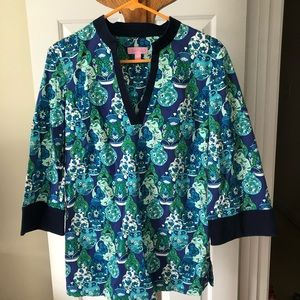 Lilly Pulitzer Ginger Jar Tunic
